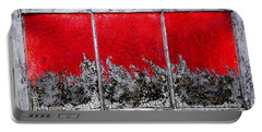 Red And White Window # 1 Portable Battery Charger