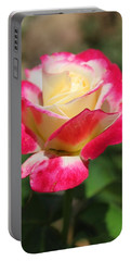 Red And Yellow Rose Portable Battery Charger