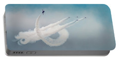 Red Arrows Portable Battery Charger