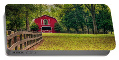 Red Barn 2 Portable Battery Charger