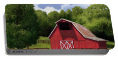 Red Barn In Franklin Tn Portable Battery Charger