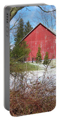 Red Barn Portable Battery Charger