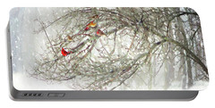 Red Bird Convention Portable Battery Charger