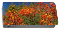 Red Bird Of Paradise Garden Portable Battery Charger