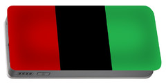 Red Black And Green Portable Battery Charger