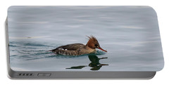 Red-breasted Merganser Female Portable Battery Charger
