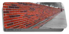 Portable Battery Charger featuring the photograph Red Brick by Doug Camara