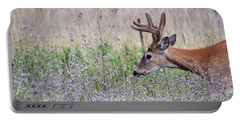 Portable Battery Charger featuring the photograph Red Bucks 4 by Antonio Romero