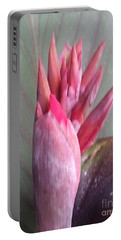 Red Canna Lily Portable Battery Charger