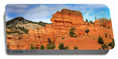 Red Canyon Area In Utah Portable Battery Charger
