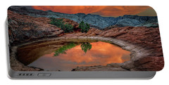 Red Canyon Reflection Portable Battery Charger