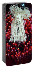 Red Chili Wreath Portable Battery Charger