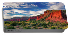 Red Cliffs Of Caprock Canyon 2 Portable Battery Charger