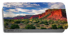 Red Cliffs Of Caprock Canyon Portable Battery Charger