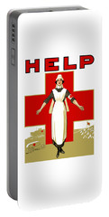 Red Cross Nurse - Help Portable Battery Charger