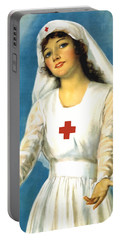Red Cross Nurse - Ww1 Portable Battery Charger