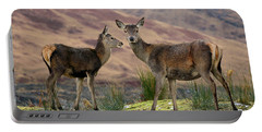 Red Deer Fawns Portable Battery Charger