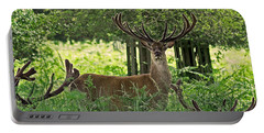 Red Deer Stag Portable Battery Charger