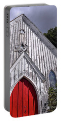 Red Door Portable Battery Charger by Gina Savage