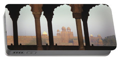 Red Fort From The Jama Masjid Portable Battery Charger