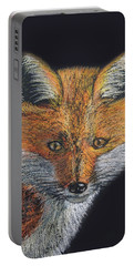 Red Fox Portrait Portable Battery Charger