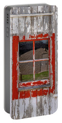 Red-framed Window Portable Battery Charger