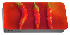 Hot Chili Peppers Portable Battery Charger