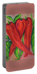 Red Hot Peppers Portable Battery Charger