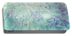 Portable Battery Charger featuring the photograph Red Huckleberry Blues  by Connie Handscomb