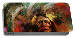 Red Indians 02 Portable Battery Charger