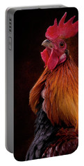 Red Jungle Fowl Rooster Portable Battery Charger