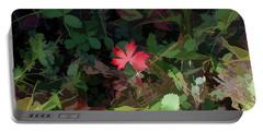 Red Leaf Herald Portable Battery Charger