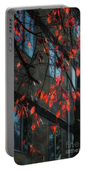 Portable Battery Charger featuring the photograph Red Leaves by Yulia Kazansky