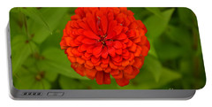Red Marigold Portable Battery Charger
