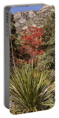 Portable Battery Charger featuring the photograph Red by Melany Sarafis