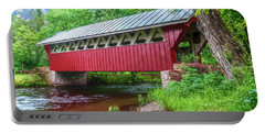 Red Mill Covered Bridge Portable Battery Charger
