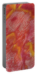 Red Monoprint One Portable Battery Charger