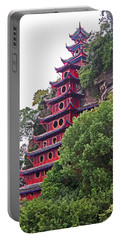 Red Pagoda Portable Battery Charger