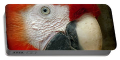 Red Parrot Portable Battery Charger