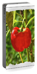 Red Pepper On The Vine Portable Battery Charger