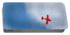 Red Plane Portable Battery Charger