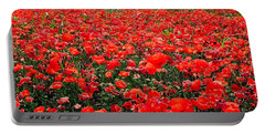Red Poppies Portable Battery Charger by Juergen Weiss