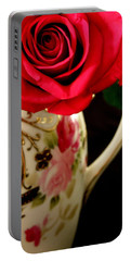 Red Red Rose Portable Battery Charger