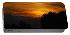 Red Red Sunset Portable Battery Charger