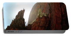 Red Rock At Zion Portable Battery Charger
