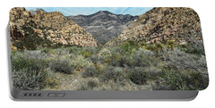 Portable Battery Charger featuring the photograph Red Rock Canyon - Nevada by Glenn McCarthy Art and Photography