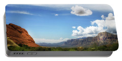 Red Rock Canyon Vintage Style Sweeping Vista Portable Battery Charger