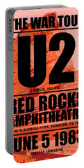 Red Rock Concert Portable Battery Charger