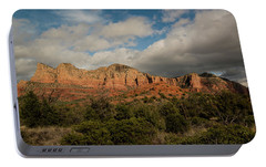 Red Rock Country Sedona Arizona 3 Portable Battery Charger by David Haskett
