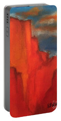 Red Rocks Portable Battery Charger by Kim Nelson